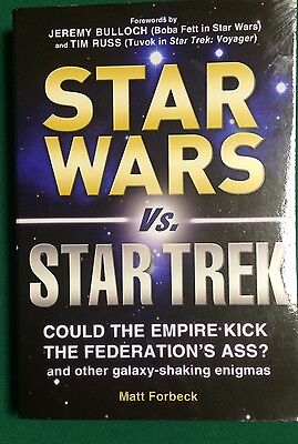 STAR WARS VS STAR TREK  Could the Empire kick the Federation *NEW* MSRP $14.95