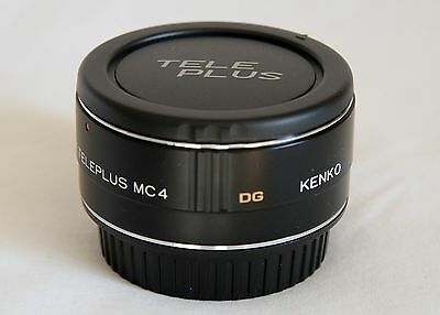 Kenko Auto Teleconverter C-AF 2X MC4 DG for Cannon Camera with pouch