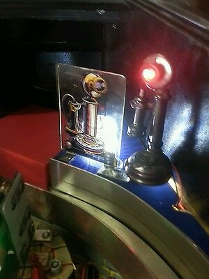 """Addams Family Pinball Machine New Phone Led Mod """"ANSWER THE PHONE"""" Ring! Ring!"""