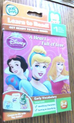 LeapFrog - Tag Junior - DISNEY PRINCESS - Learn to Read - ages 2-4 Vocabulary