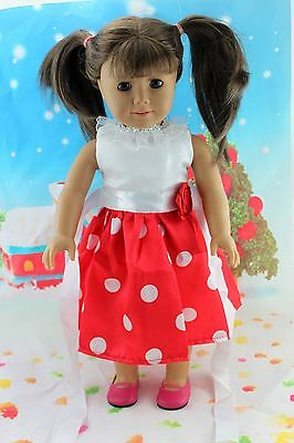 "COOL New Doll Clothes fits 18"" American Girl Handmade Hot Summer Dress X35"