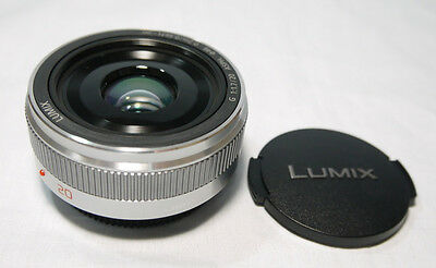 F/S New Panasonic Lumix G H-H020A 20mm F/1.7 II lens Made In Japan  for M4/3 S