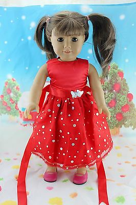 "COOL New Doll Clothes fits 18"" American Girl Handmade Hot Summer Dress X30"