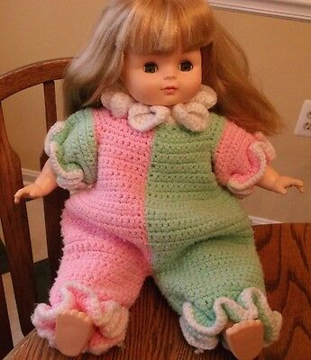 """Horsman """"Jackie"""" 1990 Special Numbered Edition 0320 Soft Body 19"""" Doll EC"""