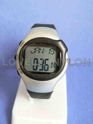 Fitness Watch Heart Rate Pulse Monitor Calories Counter free shipping