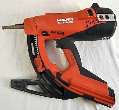 Hilti GX 120-ME Fully Automatic Gas-Actuated Fastening Tool -- No Reserve