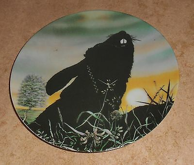 Watership Down Collector Plate Royal Orleans Movie Poster Bigwig Bunny Rabbit