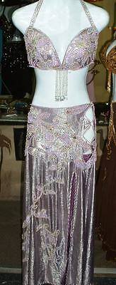 Professional New Belly Dance Costume Dress Fashion Made To Fit Handmade FC51