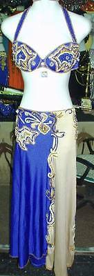 Professional New Belly Dance Costume Dress Fashion Made To Fit Handmade FC53