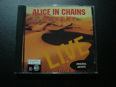 ALICE IN CHAINS [ DESERT LIVE 1992 ] 12 TRACKS SPECIAL EDITION CD FOR THAI