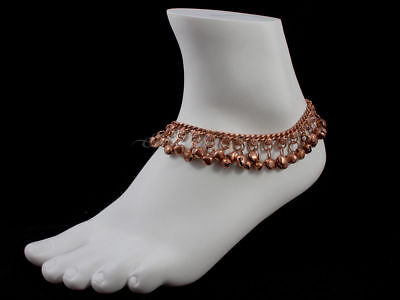 Anklet Ankle Bracelet Chain Jewelry - Copper Tone with Bells (JC315)