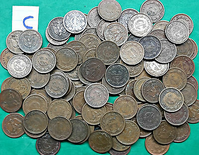 Lot of 115 Mexico 1 One Centavo Coins Vintage Mexican !! C