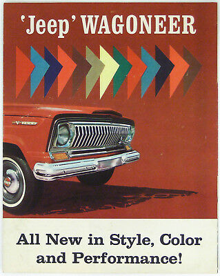Jeep 1965 Wagoneer Options, Accessories and Specifications Brochure