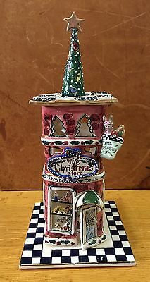 Blue Sky Clayworks 'The Christmas Store' Candle House CL20104