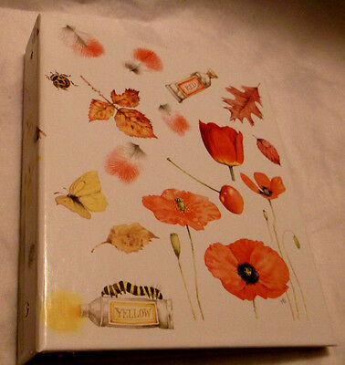Marjolein Bastin Album Photo Pages 3-Ring Binder Red, Yellow & Blue Covers 1995