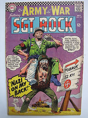Our Army at War #169 (Jul 1966, DC) [VG/FN 5.0]