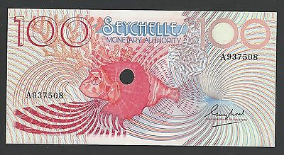 Seychelles 100 Rupees ND 1979 P26a Seychelles Monetary Authority Uncirculated