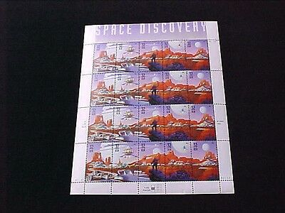 U.S: #3238 32-CENT SPACE DISCOVERY MINT SHEET/20 NH OG