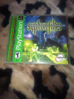 SONY PLAYSTATION SYPHON FILTER Video Game