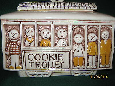 VTG Treasure Craft Cookie Trolley VERY GOOD CONDITION 1960's( Never Had Repairs)