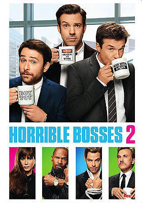 Horrible Bosses 2 (DVD, 2015, Includes Digital Copy; UltraViolet) Brand New!