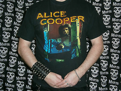 *RARE GENUINE RED WOOD TAG alice cooper brutal planet TOUR MERCHANDISE*