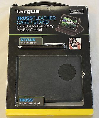 GENUINE Targus Truss Leather Case/Stand  leather BlackBerry PlayBook BEU3156-01