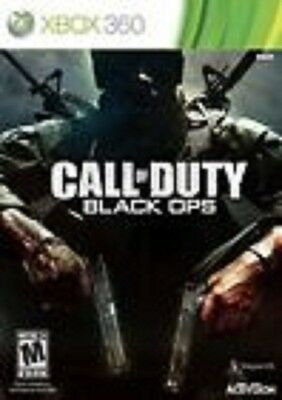 Call of Duty: Black Ops GAME (Xbox 360) **FREE SHIPPING!!