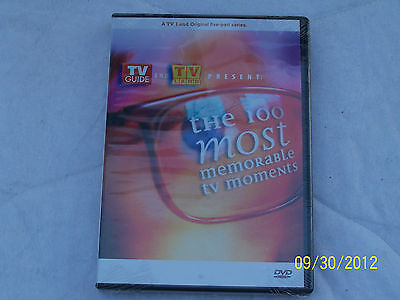 TV GUIDE & TV LAND Present the 100 Most Memorable TV Moments News, Sports etc.
