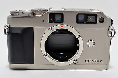 """Contax G1 35mm Rangefinder Film Camera """"Excellent+"""" From Japan 54907"""