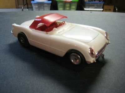 1/24 Scale Slot Car - 55 Corvette Magnesium Sidewinder Cox Chassis