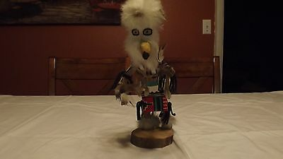 Kachina Doll handmade and signed by Thomas Yazzie