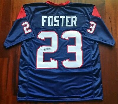 Arian Foster Autographed Signed Jersey Houston Texans  JSA