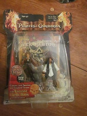 Pirates Of The Caribbean / Disney - The Haunting Of Jack Sparrow Action Figures