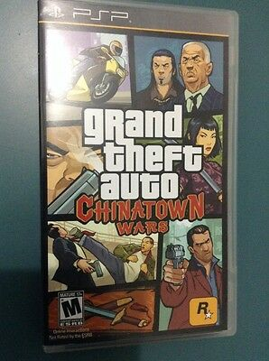 Grand Theft Auto: Chinatown Wars  (PlayStation Portable, 2009) Complete