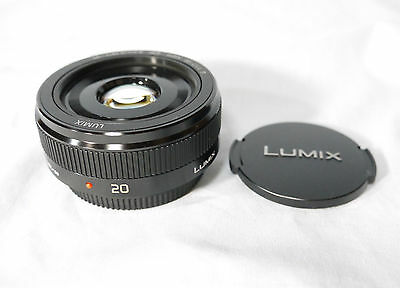 F/S New Panasonic Lumix G H-H020AK 20mm F/1.7 II lens Made In Japan for M4/3 B