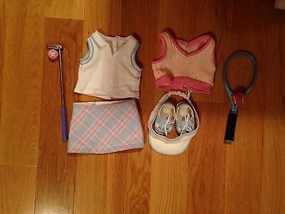 American Girl Doll Clothes - Tennis And Golf Outfits For 18 Inch Doll