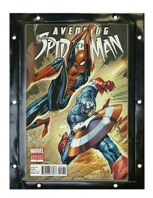 Pack of 12 BCW Snap It Comic Book Wall Display Panels holders protectors