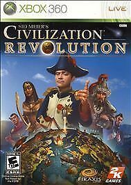 XBOX 360 Sid Meier's Civilization Revolution COMPLETE WITH MANUAL