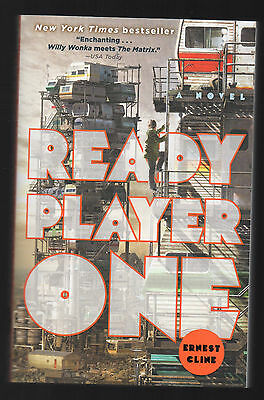 Ready Player One: A Novel, by Ernest Cline, Paperback, 2012, New, Free Shipping