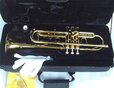 BRAND NEW  BRASS BAND TRUMPETS w/CASE.WARRANTY+APPROVED