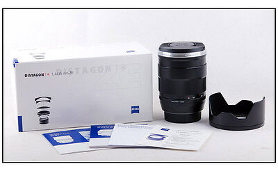 New Zeiss Distagon T* ZE 35mm F/1.4 for Canon EOS 5D III 1Dx 1DS 1D mark II