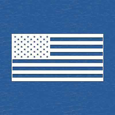 American Flag Vinyl Decal Sticker United States Of America - Choose Size & Color