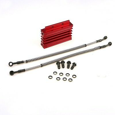 CNC Oil Cooler Cooling 138cc 140 150cc Engine Pit Dirt Bike Thumpstar Atomik Red