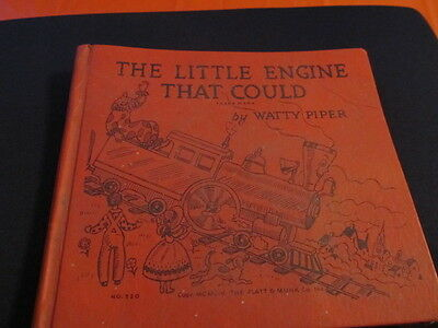 The Little Engine That Could Watty Piper HC #520 1954 Silver Anniversary Issue