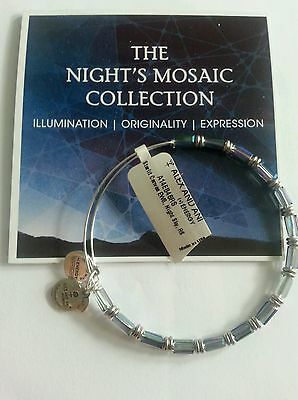 Alex and Ani Starlit Canvas Night Sky New Tags Cards Rare Sold Out Gift Box