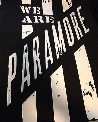 We Are Paramore Poster (Exclusive to Monumentour VIP package)