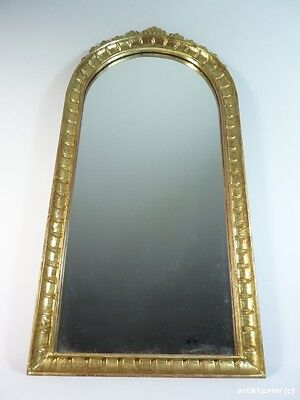 GREAT LOOKING GILDED MIRROR VINTAGE ITALY 1960´s