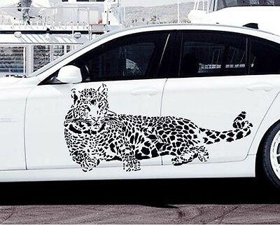 Leopard panther Vinyl Wall Stickers Window Decals Car Decoration Cheetah