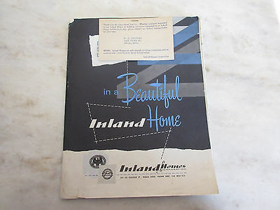 Beautiful Inland Homes Catalog Mid Century Ranch House Plans Vintage 50's 60's